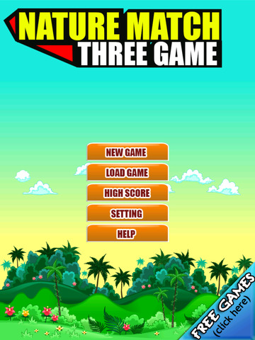 Free Match Game Nature Match Three screenshot 10