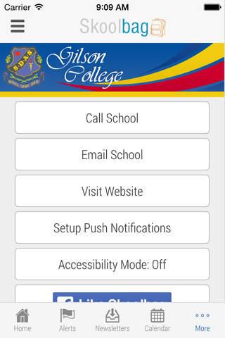 Gilson College - Skoolbag - náhled
