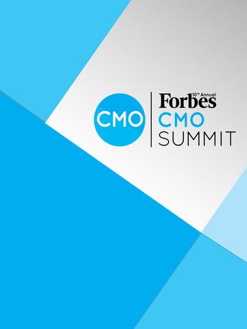 Forbes CMO Summit screenshot 3