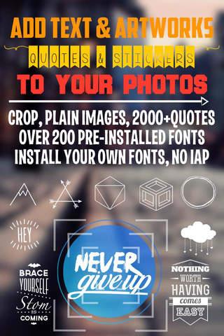 Fontgraphy - náhled