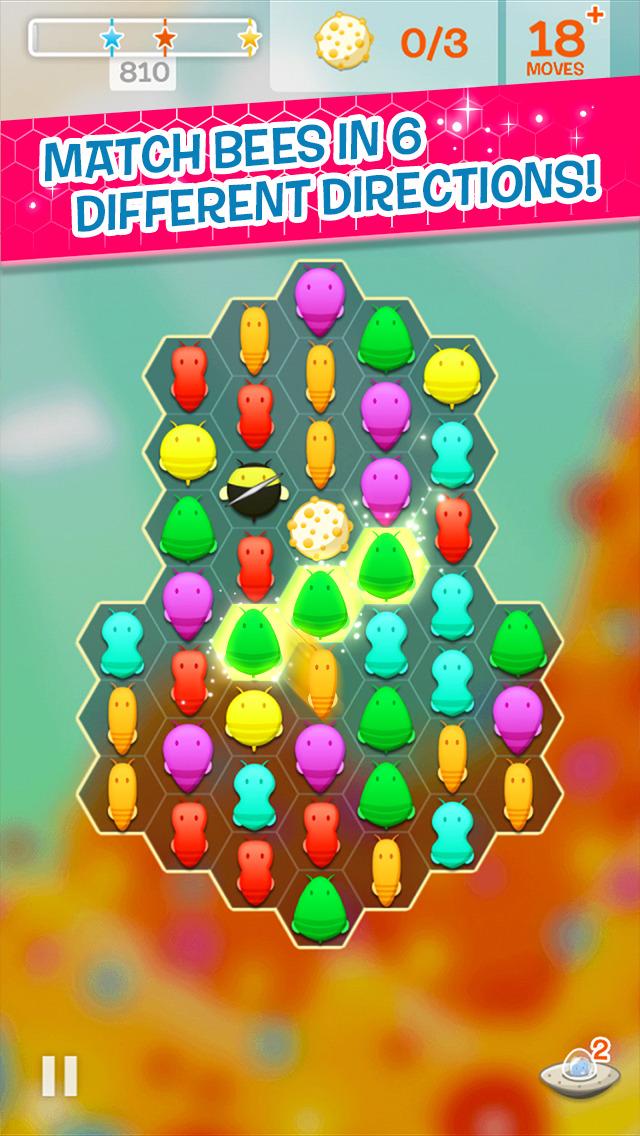 Disco Bees screenshot 1