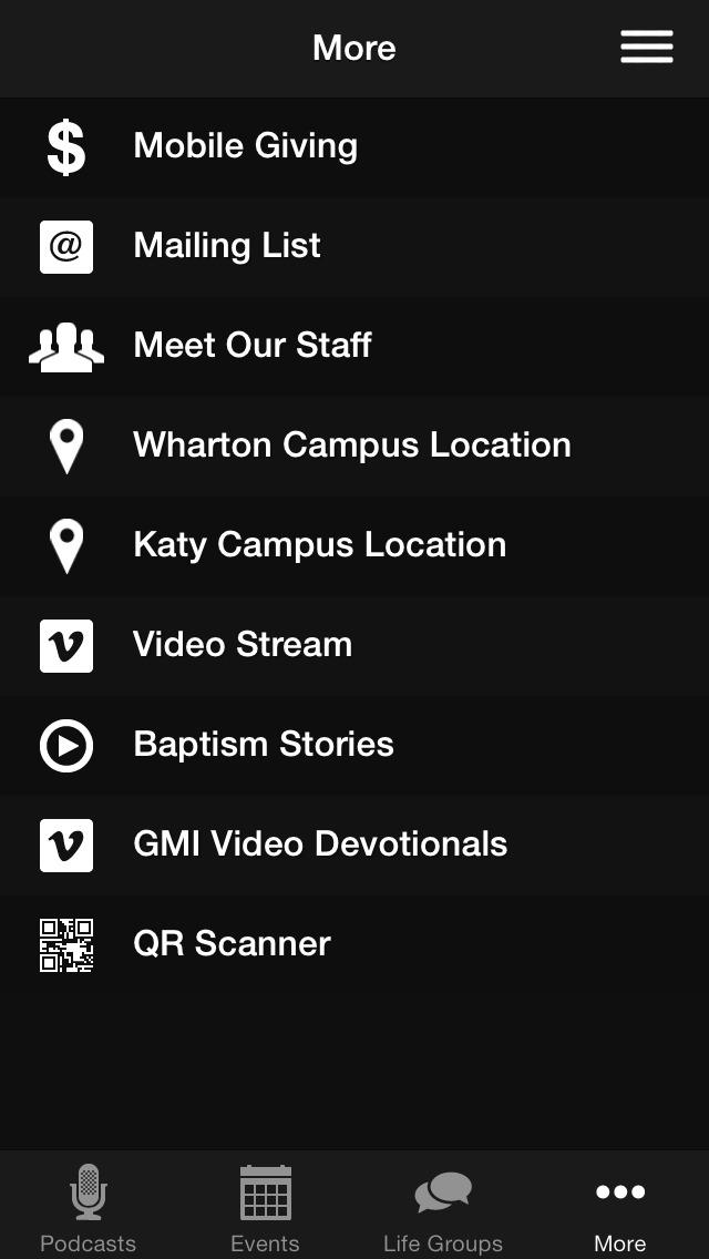 GCF Wharton screenshot 3