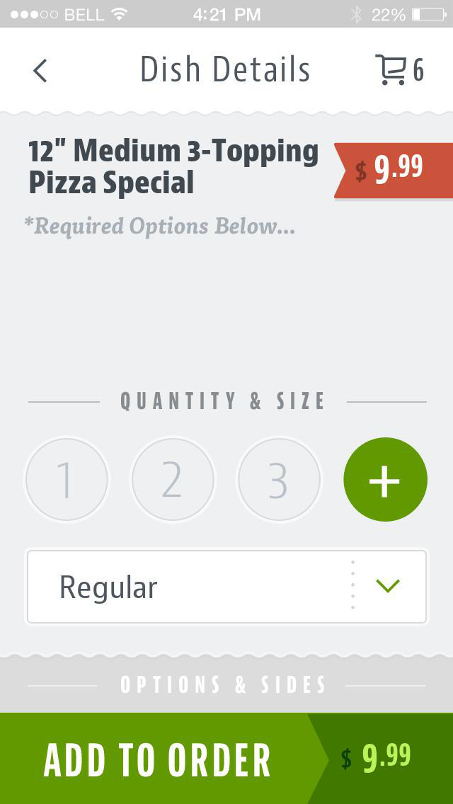 Westgate Pizza Bella screenshot 4
