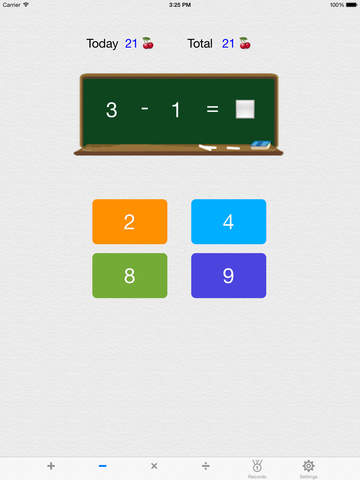 Icebreaking Math - plus, minus, multiplication, division, 9 by 9, 12 by 12, 19 by 19 screenshot 6