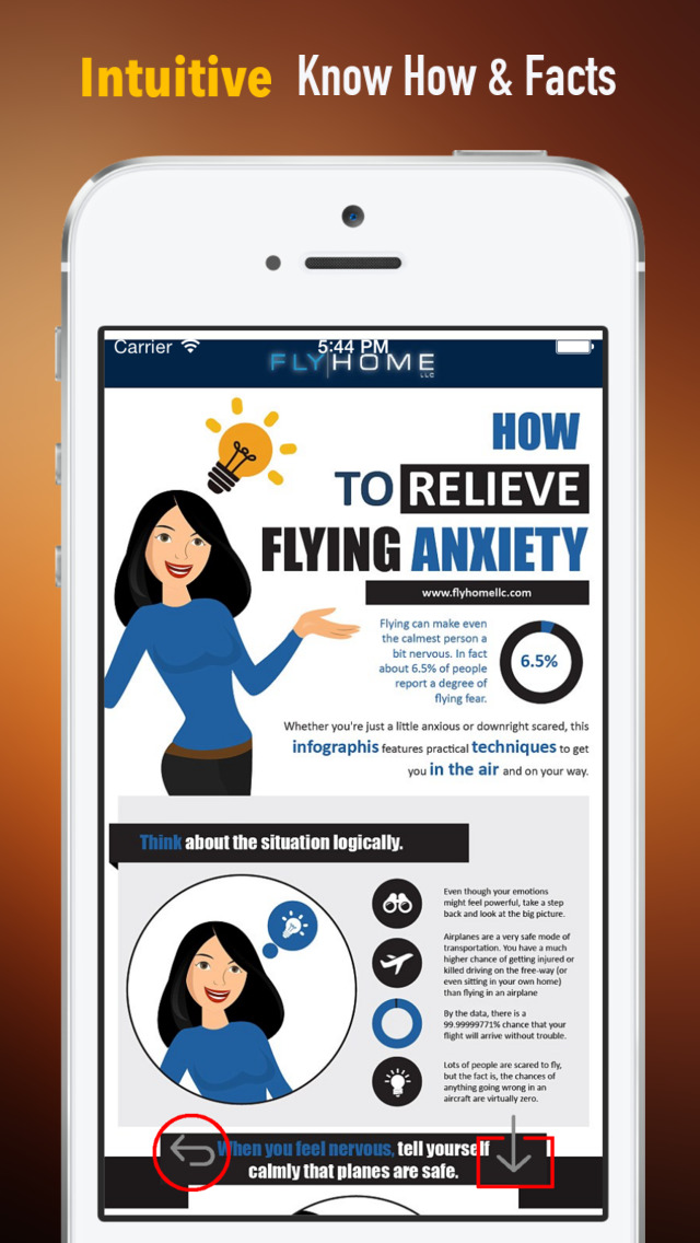 How to Overcome a Fear of Flying:Tips and Tutorial screenshot 1