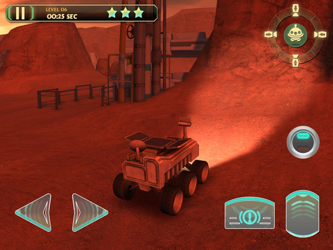 3D Mars Parking PRO - Rover Space Driving Astronaut Simulator Version screenshot 9