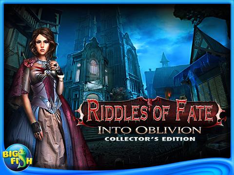 Riddles of Fate: Into Oblivion HD - A Hidden Object Puzzle Adventure screenshot 5