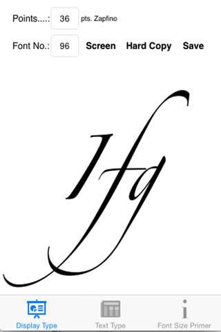 Font Sizes - náhled