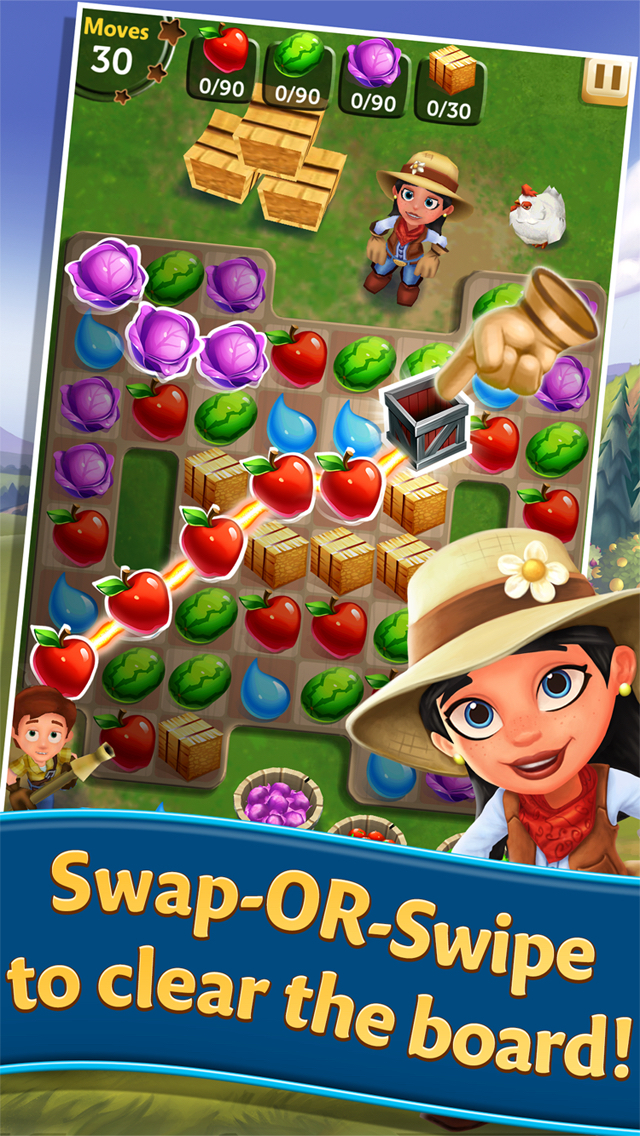 FarmVille: Harvest Swap screenshot 1