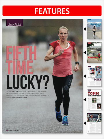 Athletics Weekly Magazine screenshot 7