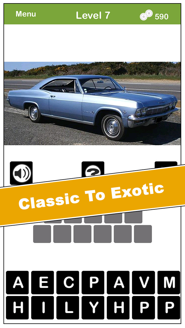 What's The Car? From classic automobiles to the best exotic super cars today, they're all here. Free screenshot 2