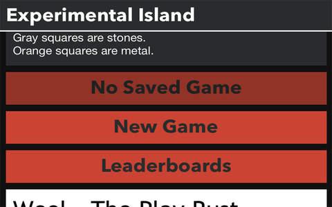 Experimental Island - náhled