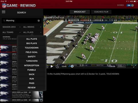NFL Game Rewind screenshot 9