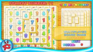 Mahjong Mystery: Case of Numbers screenshot 2