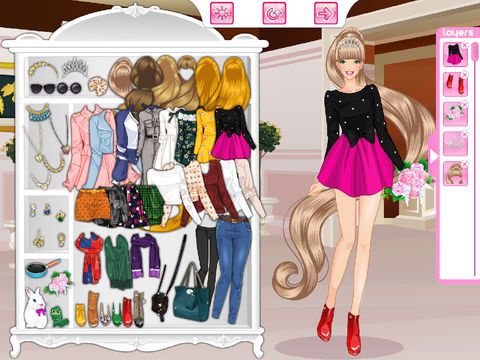 Long Haired Girl screenshot 5
