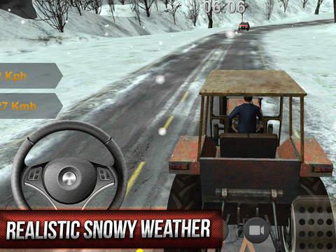 Winter Hill Climb Truck Racing screenshot 10