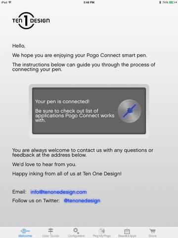 Pogo Connect screenshot 1