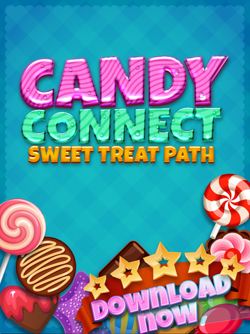 ' A Candy Connect Sweet Treat Path – Free Logic Game screenshot 6