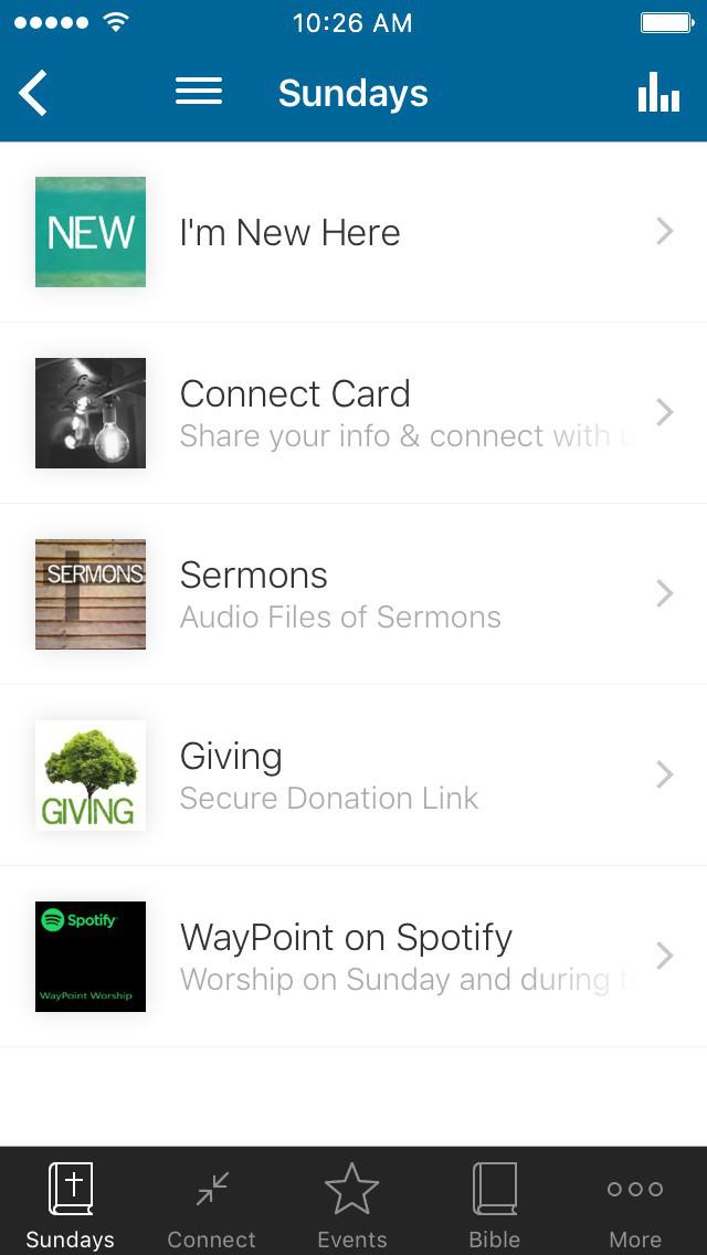 WayPoint Church screenshot 1
