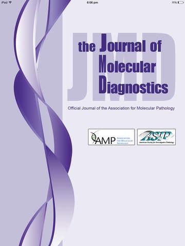 Journal Molecular Diagnostics screenshot 6