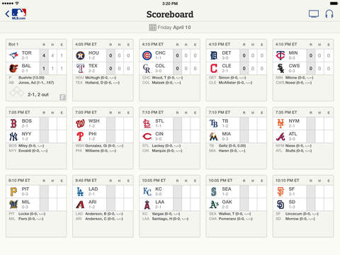 MLB At Bat screenshot 7