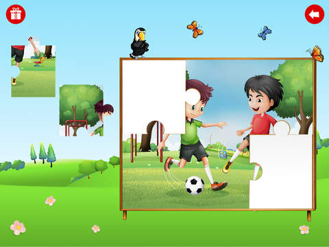 Kid Erudite Large puzzles collection screenshot 8