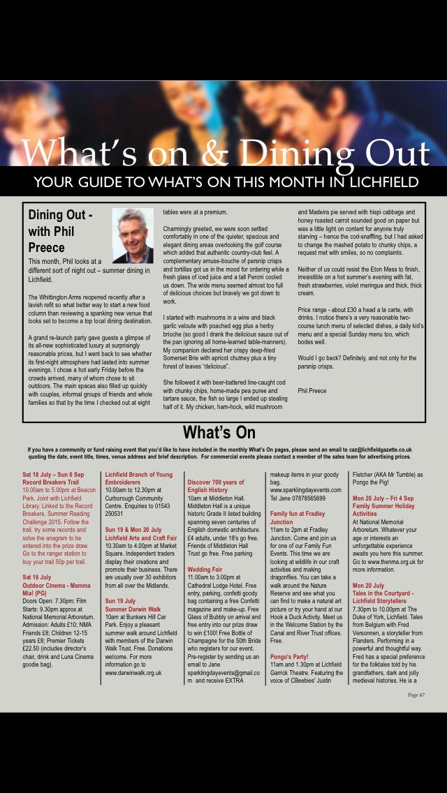 Lichfield Gazette screenshot 5