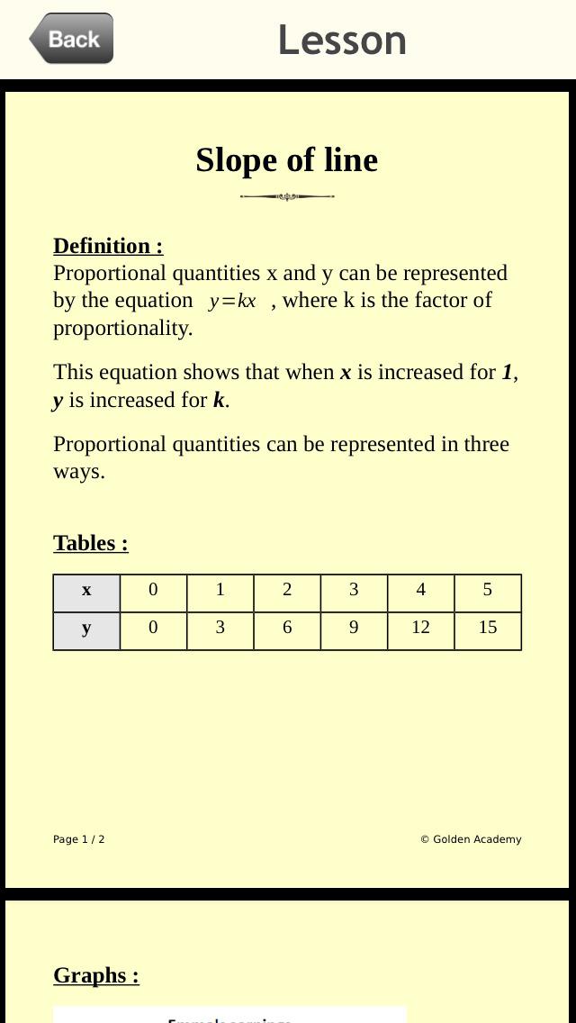 Middle School - Maths : 8th Grade screenshot 3