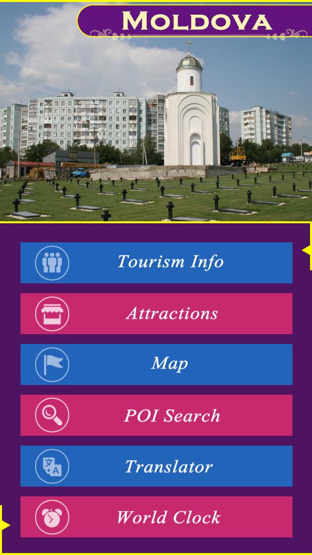 Moldova Tourism Guide screenshot 2