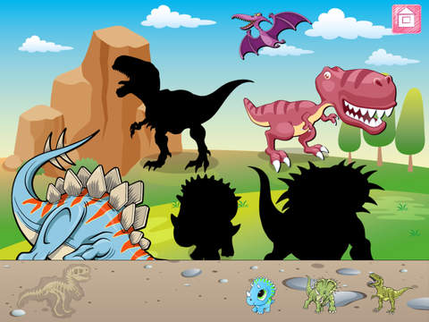 AAA³  Dinosaur game for preschool aged children´´ screenshot 9