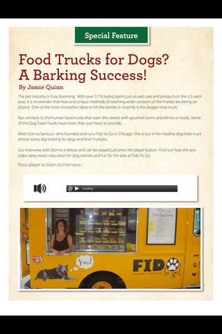 Healthy Dog Food Magazine - náhled
