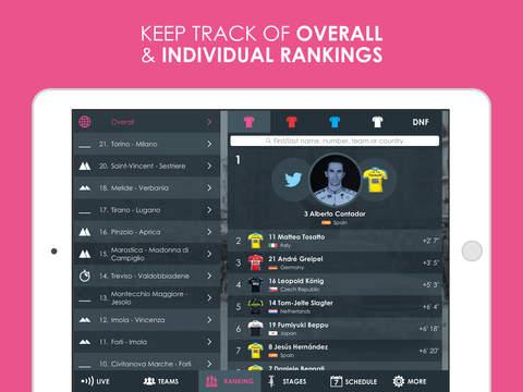 Giro d'Italia 2015 edition Pro - Cycling Tour App screenshot 8