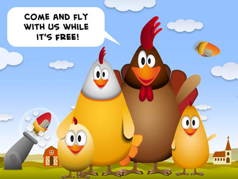 Fun to Fly to the top with this epic game so be cool and tap the most chicken eggs for free! screenshot 10