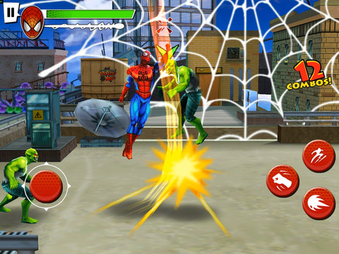 Spider-Man: Total Mayhem HD screenshot 5