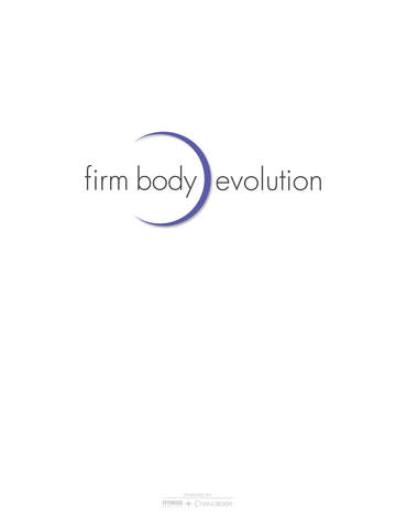 Firm Body Evolution screenshot #1