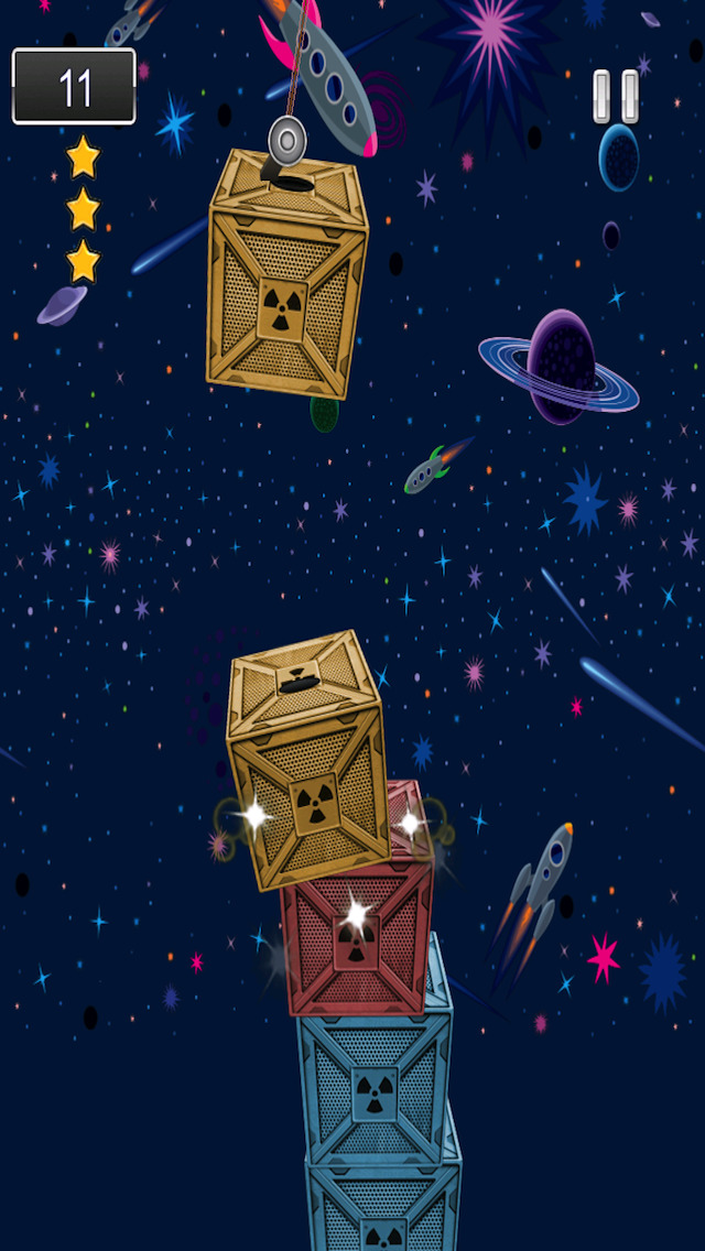 A1 Space Frontier Crane Stacker Game Pro Full Version screenshot 2