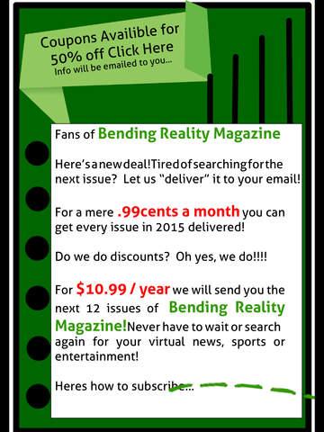 Bending Reality Magazine screenshot 10