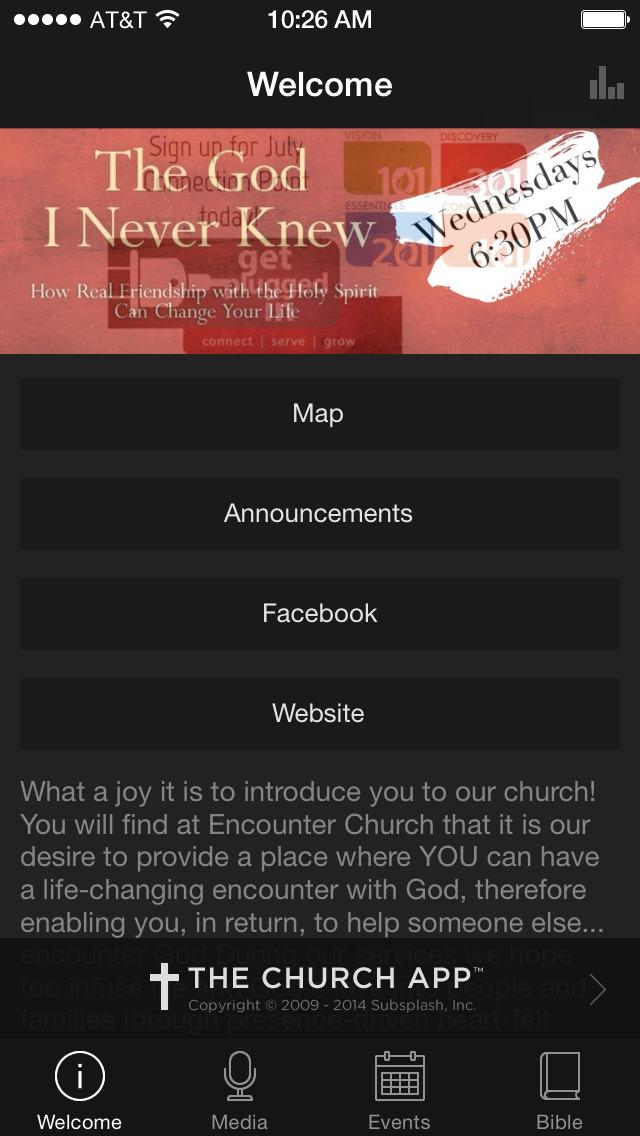 Encounter Church screenshot 1
