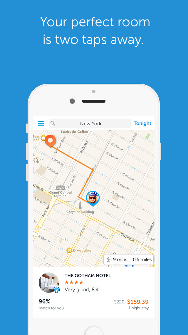 Booking Now – your tonight or tomorrow, need a hotel, spontaneous travel, so you always have the perfect place to stay app! screenshot 1