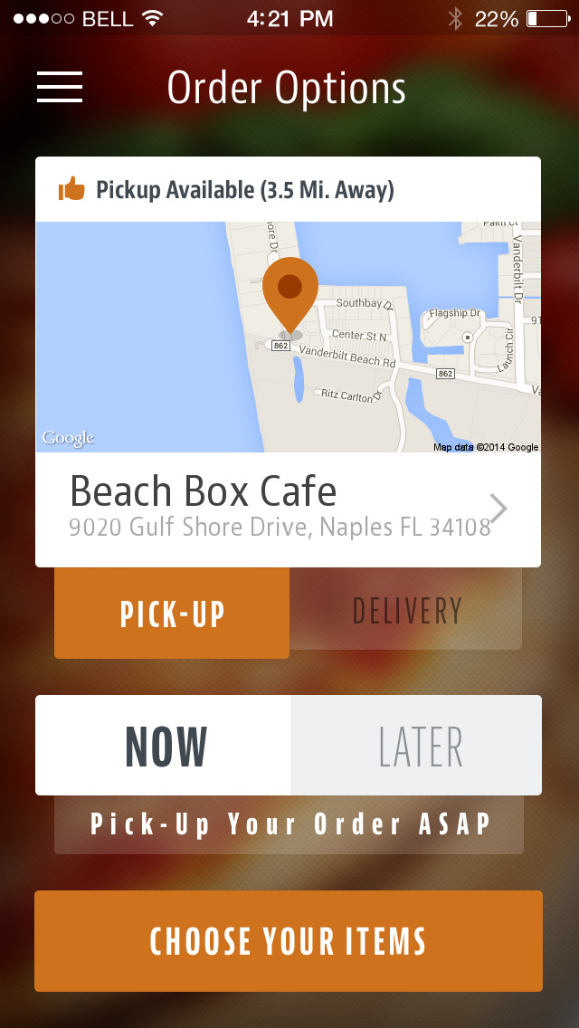 Beach Box Cafe screenshot 2