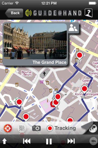 Brussels GUIDE@HAND, Audio and Map - náhled