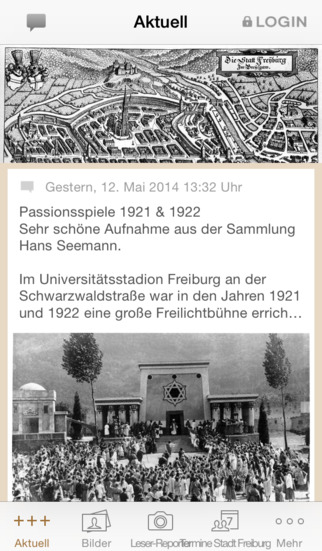 Historisches Freiburg screenshot 1