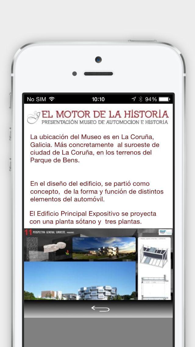 El motor de la Historia screenshot 1