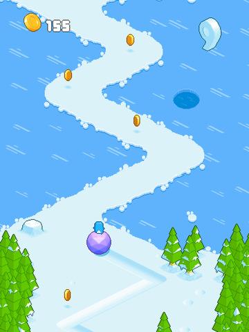 Snow Roll screenshot 8