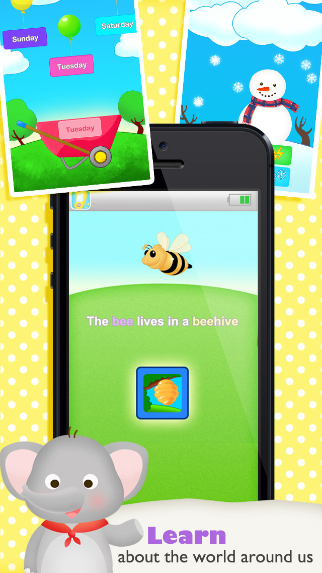 Buzz Me! Kids Toy Phone Free - All in One children activity center screenshot 2
