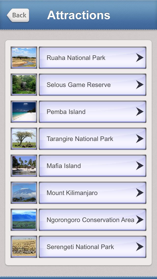 Tanzania Tourism Guide screenshot 3