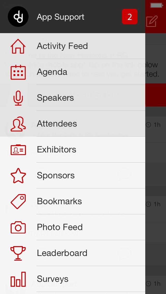 Bain Events screenshot 1