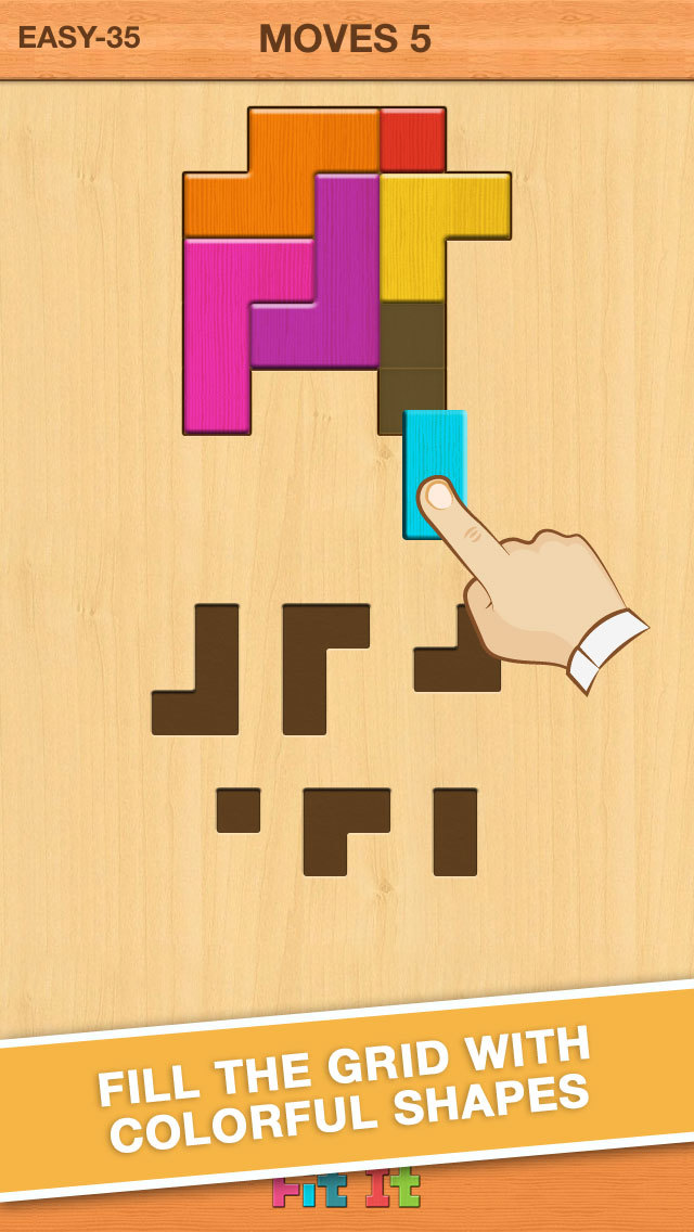 Fit It - Brand New Tangram Puzzle Game screenshot 1