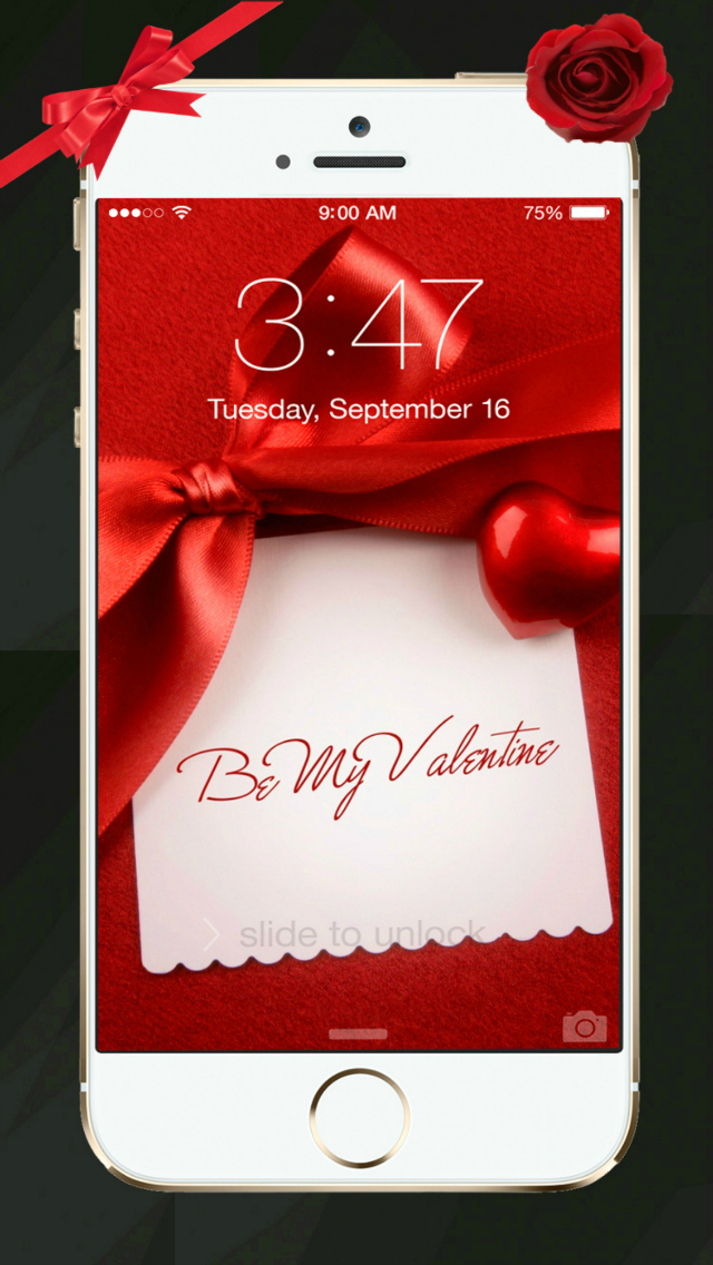 Beautiful Valentine's Day - Cool HD Themes and Backgrounds screenshot 2