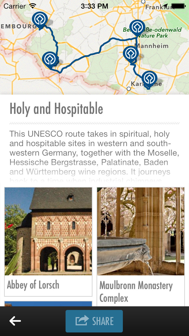 UNESCO World Heritage Germany - official travel guide screenshot 4